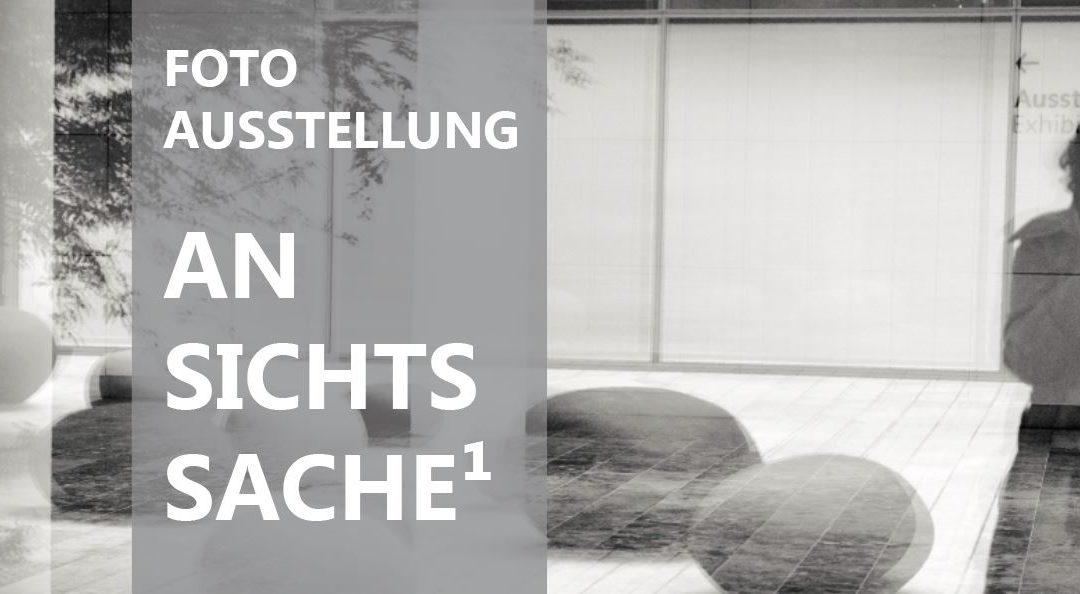 """Fotoausstellung """"ANSICHTSSACHE1"""" im Rathaus Obing bis zum 20. August 2019"""
